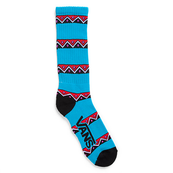 Blue Eruption Crew Socks 1 Pair Pack