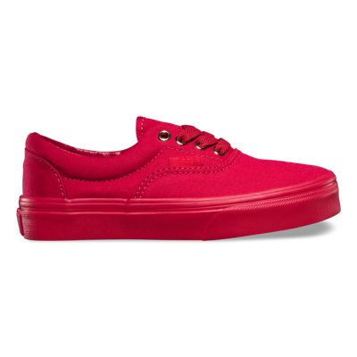 Vans Kids Gold Mono Era (Crimson) Kids Shoes