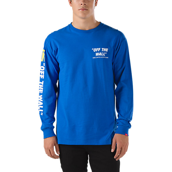50th reissue long sleeve t shirt shop mens t shirts at vans for Shop mens t shirts