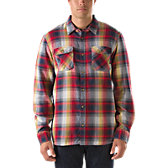 Kepler Shadow Plaid Buttondown Shirt