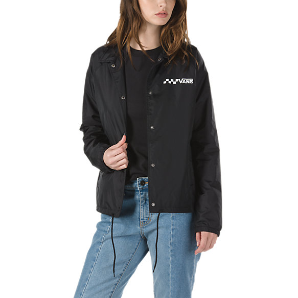 thanks coach jacket shop womens jackets at vans. Black Bedroom Furniture Sets. Home Design Ideas
