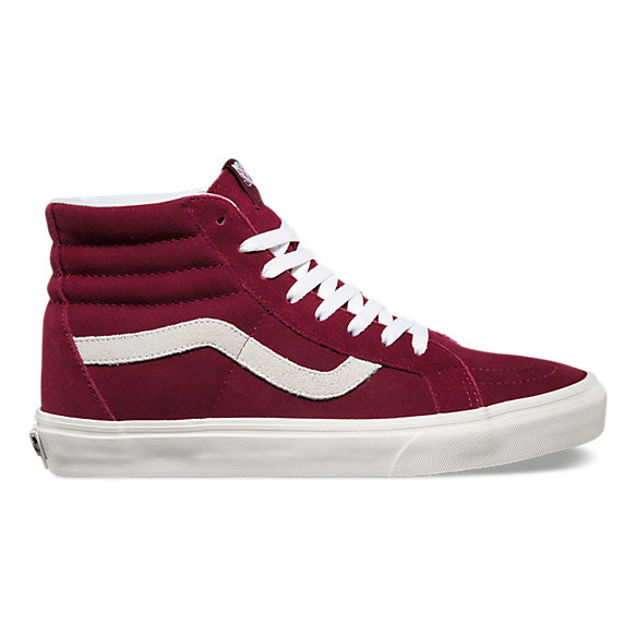 Vans Maroon Shoes High Tops