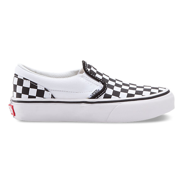 Kids Checkerboard Slip-On