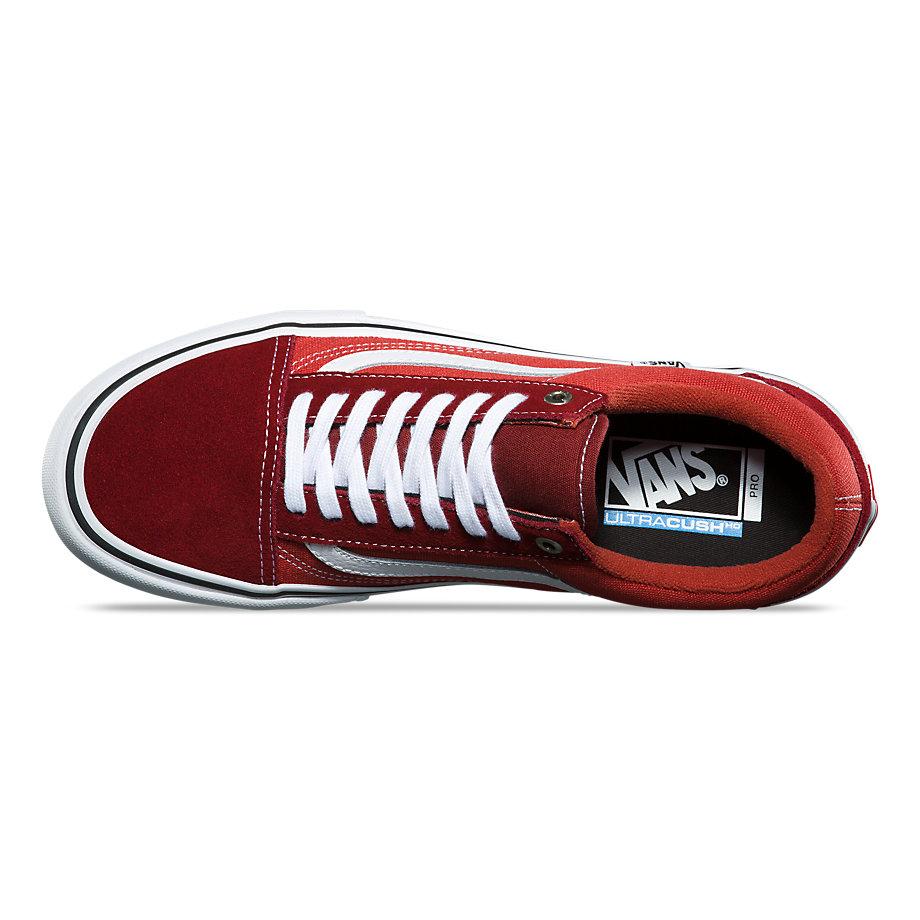 Vans Shoes Old Skool Pro Two Tone Madder BrownCinnabar