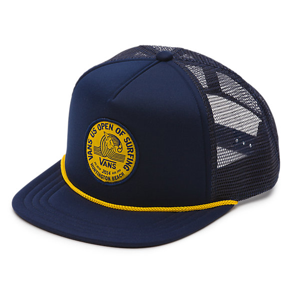 Vans 2014 Us Open Trucker Hat Shop Mens Hats At Vans