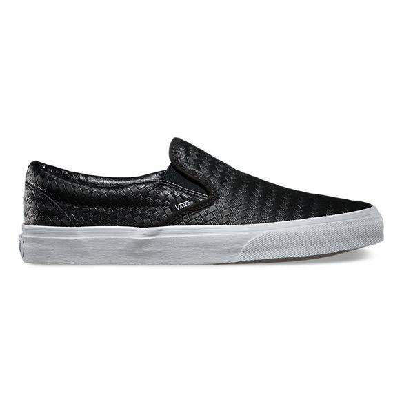 emboss weave slip on shop classic shoes at vans. Black Bedroom Furniture Sets. Home Design Ideas