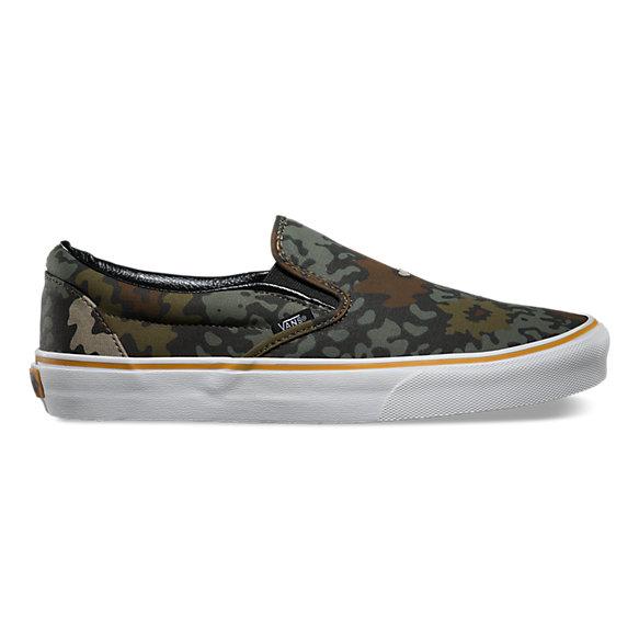 Floral Camo Slip On Shop Classic Shoes At Vans