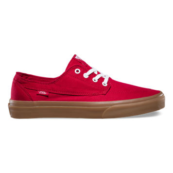completely red vans
