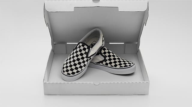 Vans Classic Slip-Ons gain international attention and appeal when they are  worn by Sean Penn in the film Fast Times at Ridgemont High. b27c53d43