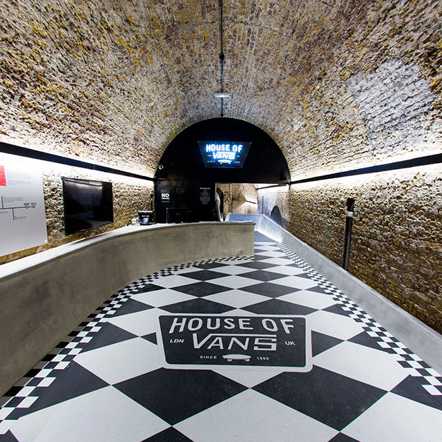 vans off the wall store skateboarding