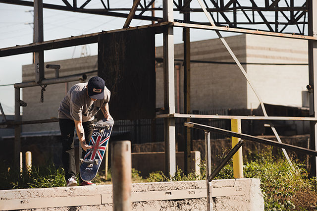 4a0471344b Legendary Skateboarder Geoff Rowley joins the brand s impressive apparel  program. Geoff Rowley-one hundred percent Skateboarder