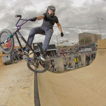 BMX Pro Camp @ Vans Skatepark Orange, CA