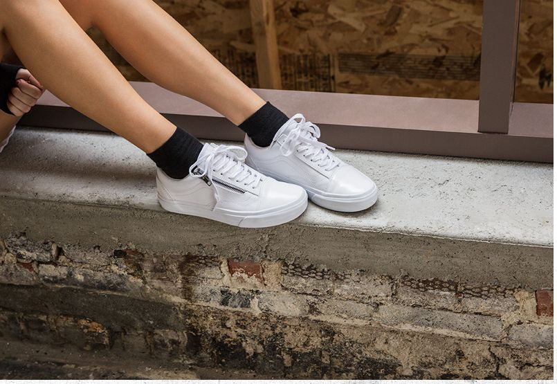 vans ua old skool damen zip