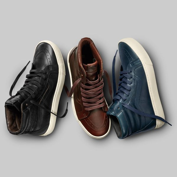 vans leather mens shoes