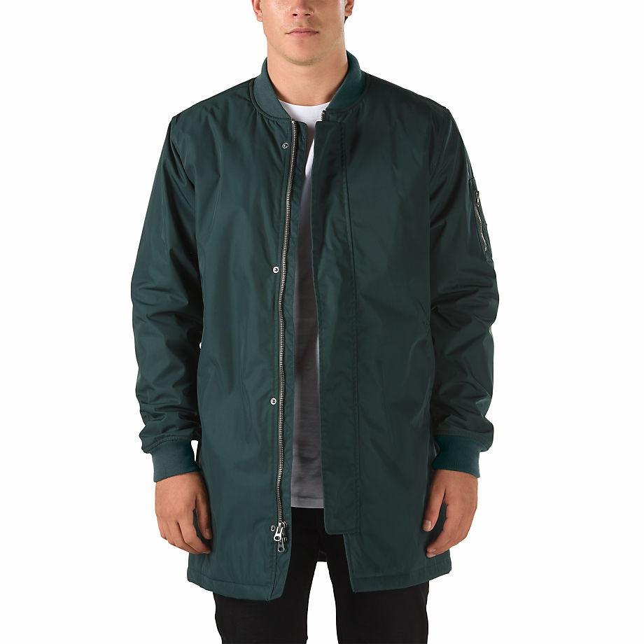 Vans Karns Bomber Mte Jacket (scarab-green) Men Green 4aac982bd3