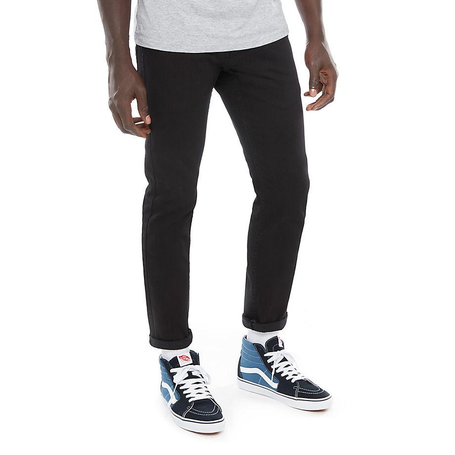 VANS V46 Karotten-jeans (overdye Black) Herren Schwarz