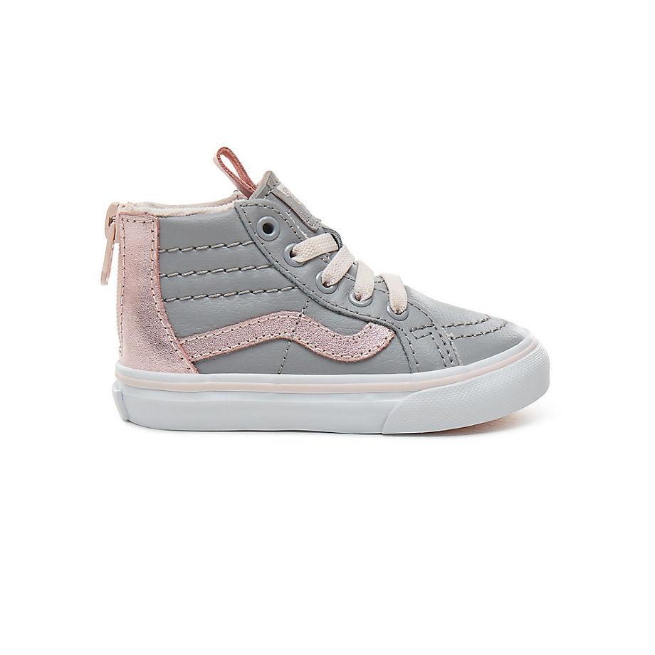 Vans Kleinkinder Suede Sk8 hi Mte Zip Schuhe (0 3 Jahre