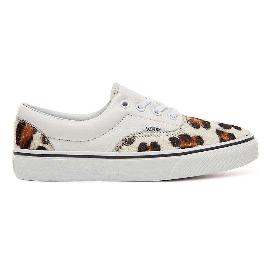 7fdc3fa25b387 Vans Calf Hair Leopard Era Shoes ((calf Hair) Leopard/true White)