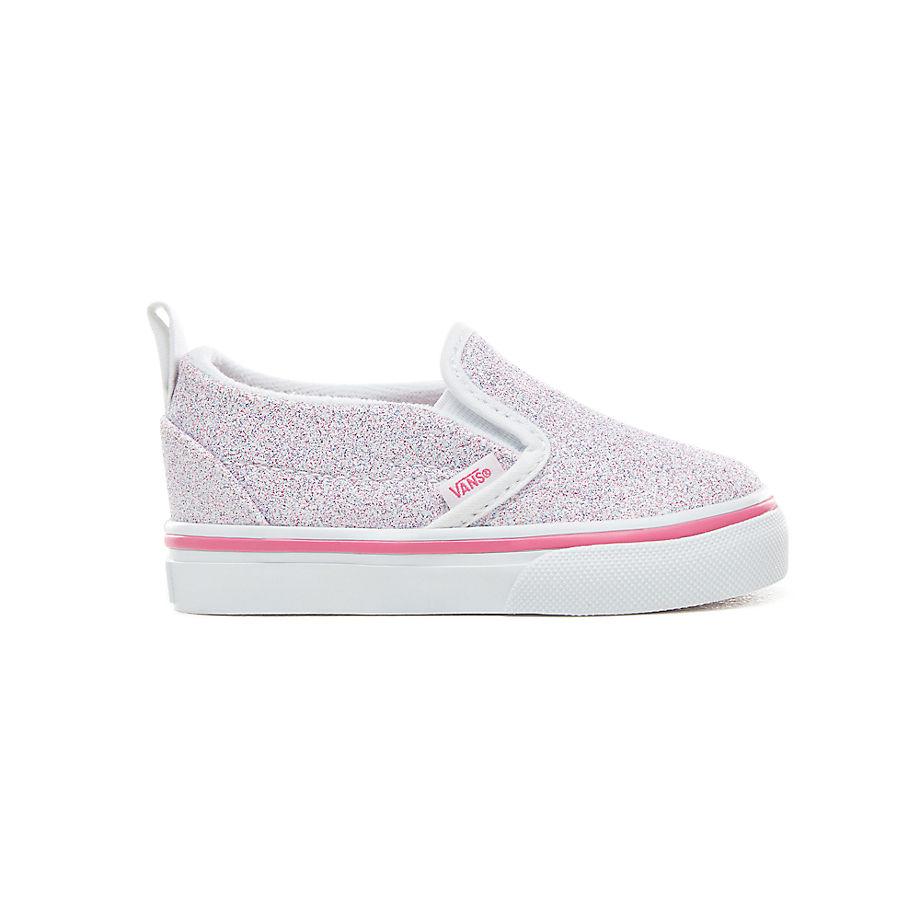 43415f97ae4349 Vans Toddler Glitter Stars Slip-on V Shoes (1-4 Years) (
