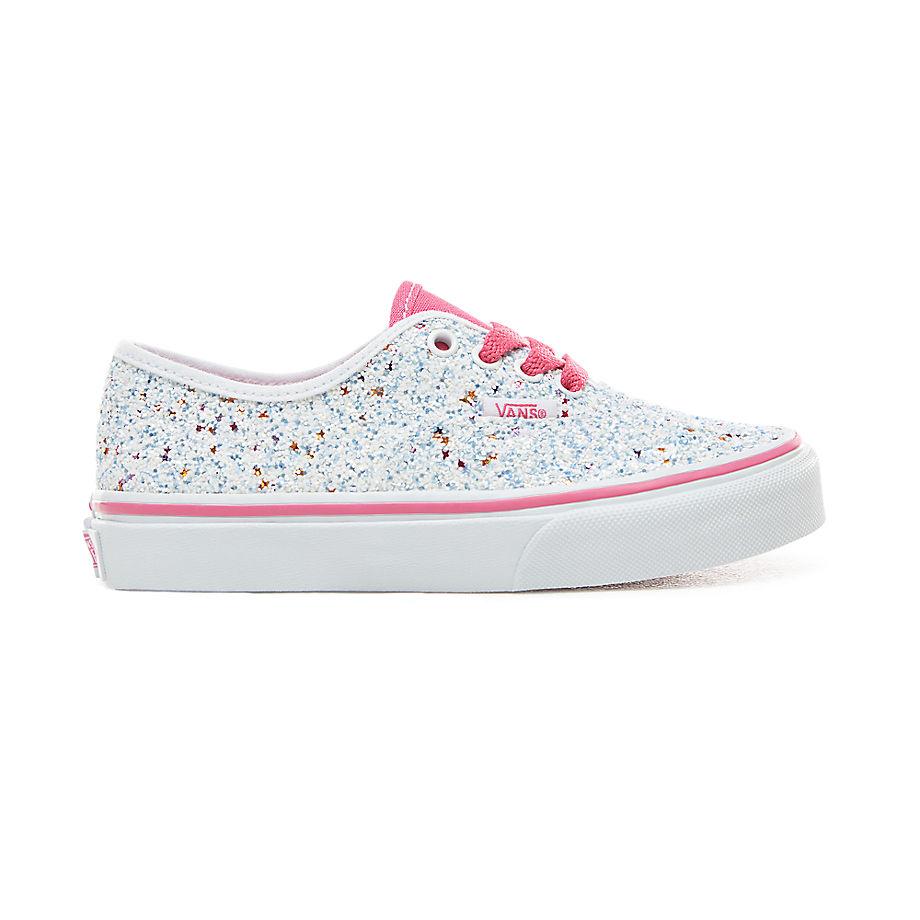 90e9c357f7a Vans Glitter Stars Authentic Kinderschoenen (5 Jaar) ((glitter Stars) True  White