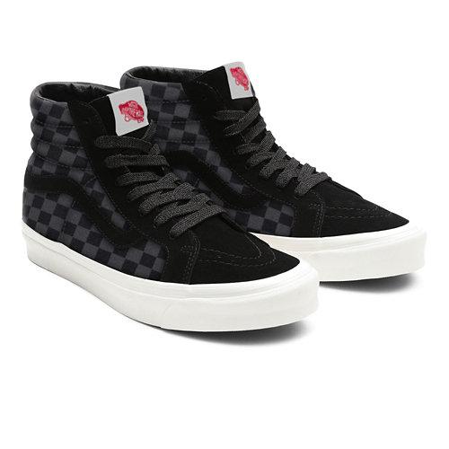 Customs+Checkerboard+Sk8-Hi