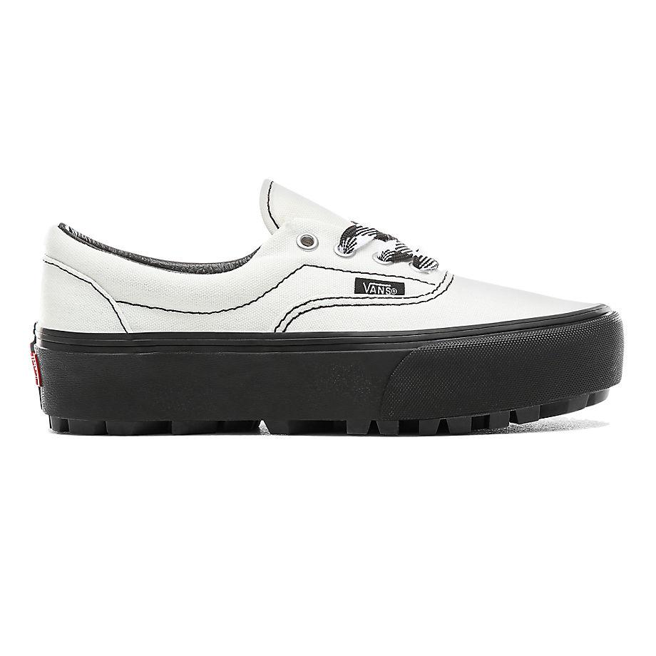 7fb9c4cbd5c9d Vans 90s Retro Era Lug Platform Shoes ((90s Retro) Cloud Dancer/black