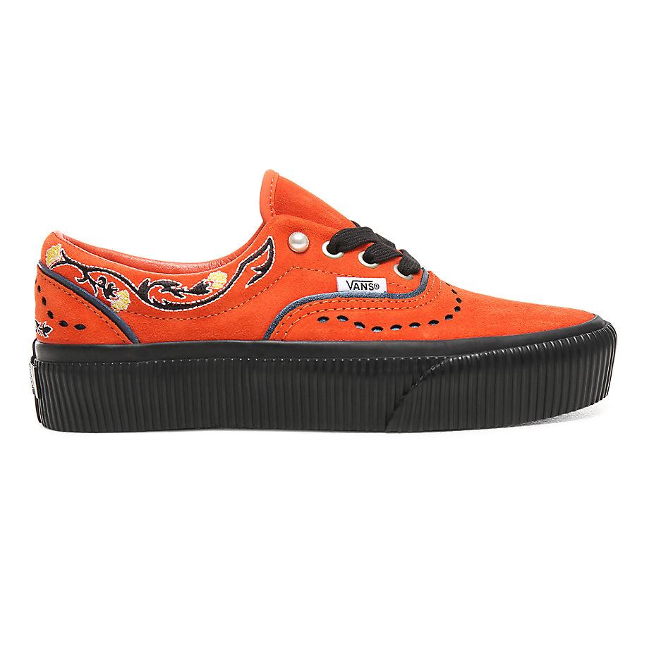 cda36d86d15c9 Vans Pearly Punk Era Platform Shoes ((pearly Punk) Koi/black) Women