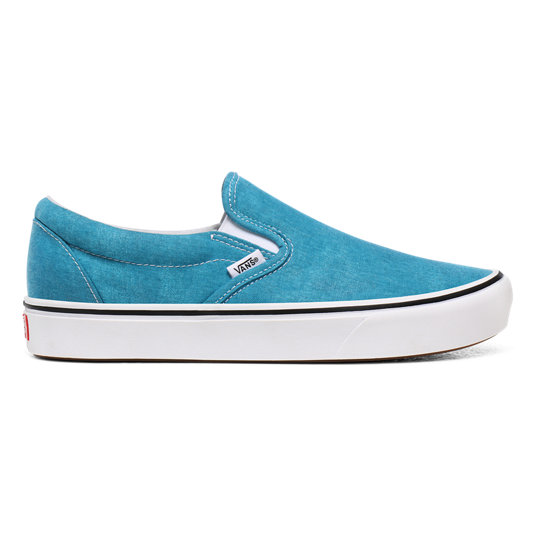 Washed Canvas ComfyCush Slip-On Shoes | Vans