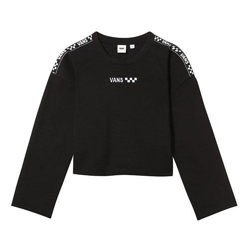 Brand+Striper+Crew+Sweater