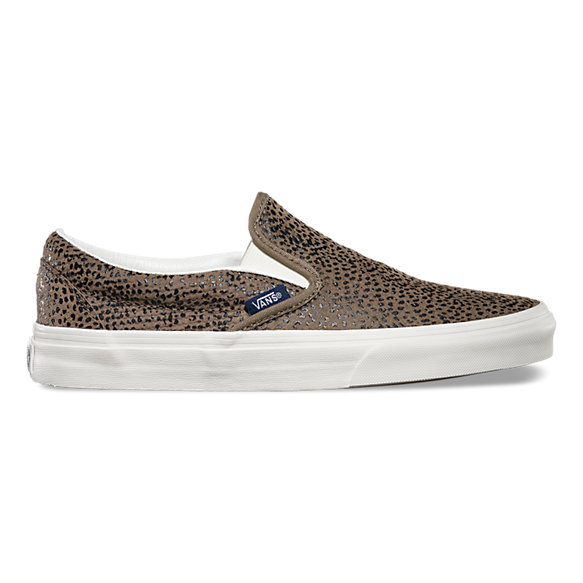 befca7201e Cheetah Suede Slip-On
