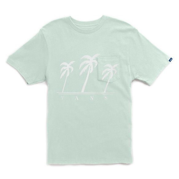 Beach Palms Pocket T-Shirt