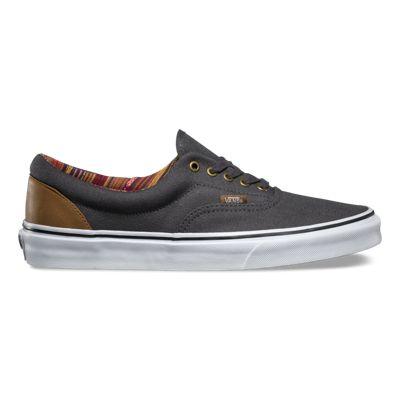 Vans Era Indo Pacific Dark Shadow & True White Mens Sneakers
