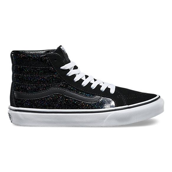 black galaxy vans