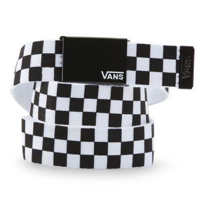 Vans Deppster Web Belt (Black-White)