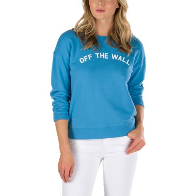 Vans Womens Seniors Only Crew - Blue
