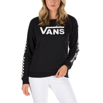 5bc29d3ec9 Vans Low Rider Crew Sweatshirt Black