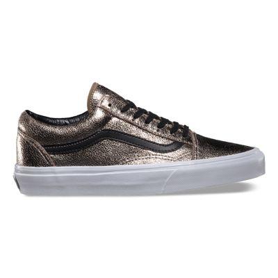 vans metallic sneakers