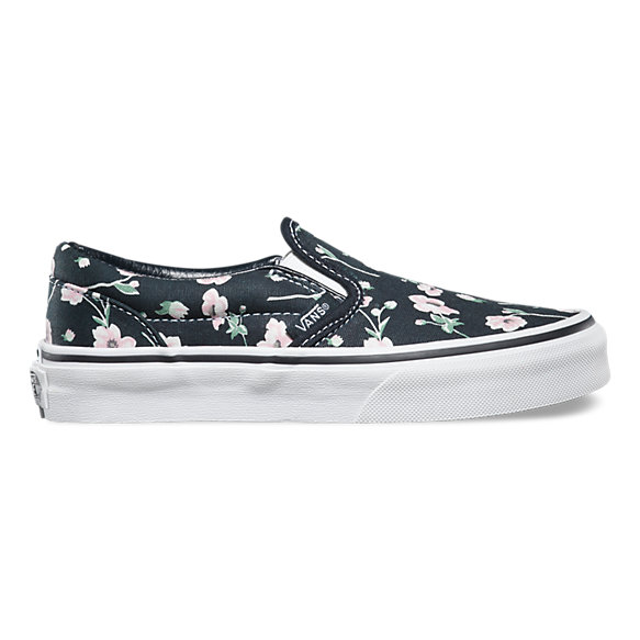 Kids Vintage Floral Slip-On