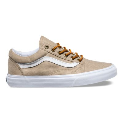 washed canvas old skool shop shoes at vans. Black Bedroom Furniture Sets. Home Design Ideas