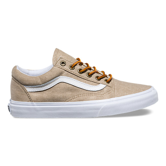 Washed Canvas Old Skool | Shop Shoes At Vans