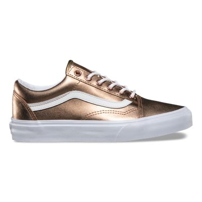 vans old skool rose gold