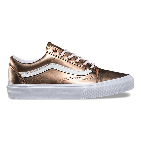 8afdfcdf57 Metallic Old Skool