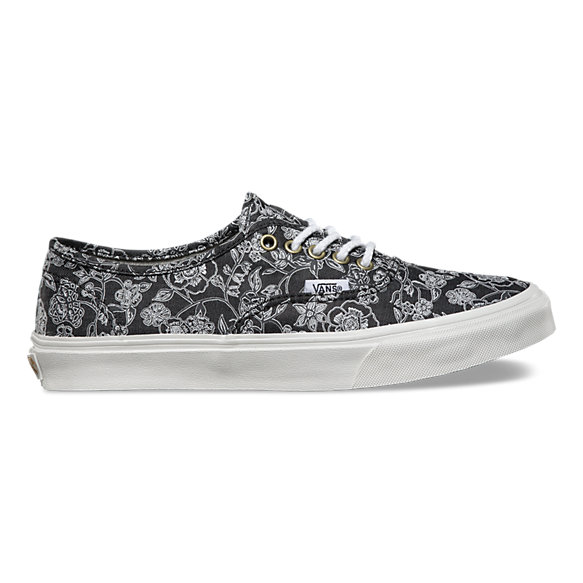 Chambray Retro Floral Authentic Slim
