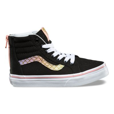 Kids Mermaid SK8 Hi Zip