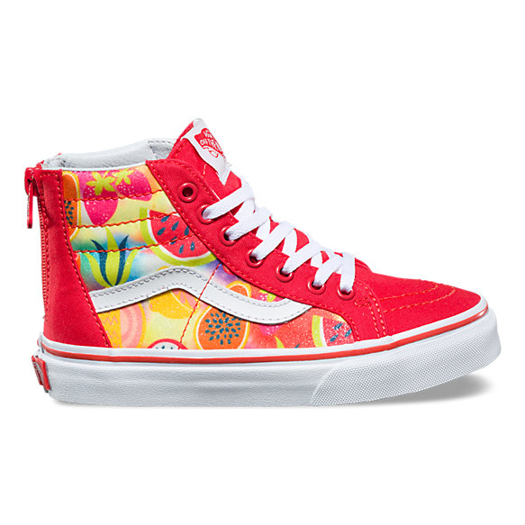 077f66eef44 Kids Glitter Fruits SK8-Hi Zip