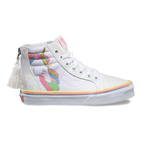 Kids Unicorn Sk8-Hi Zip. Share Your Style  3391fc4cd