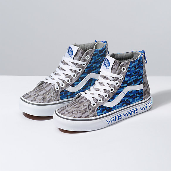 Kids Digi Earth Sk8-Hi Zip
