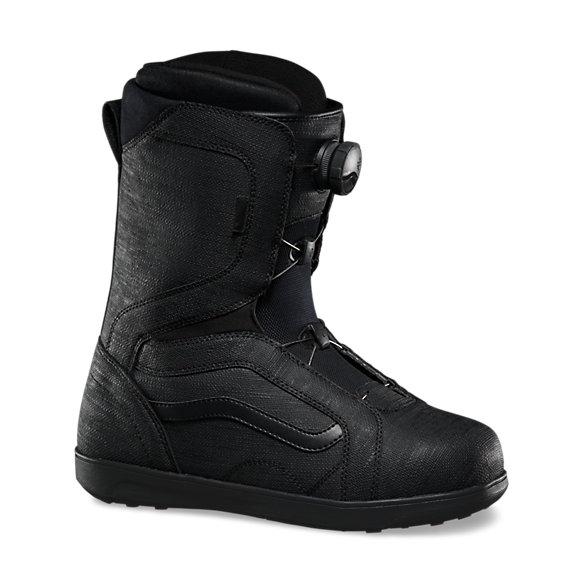 vans boots black