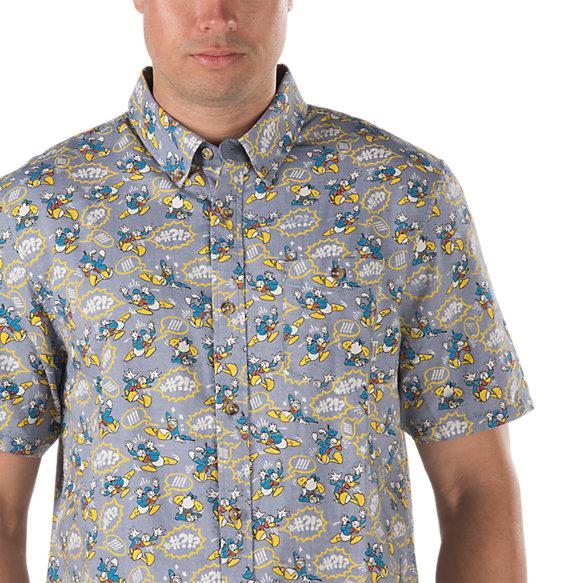 Disney buttondown shirt shop mens shirts at vans for Men s down shirt