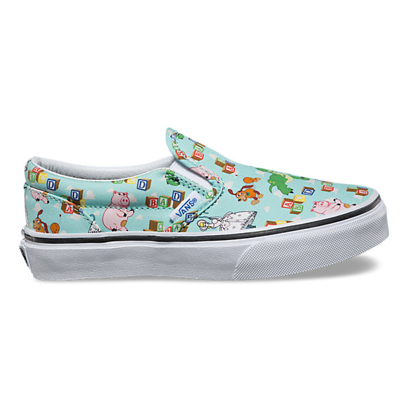 Kids Toy Story Classic Slip On